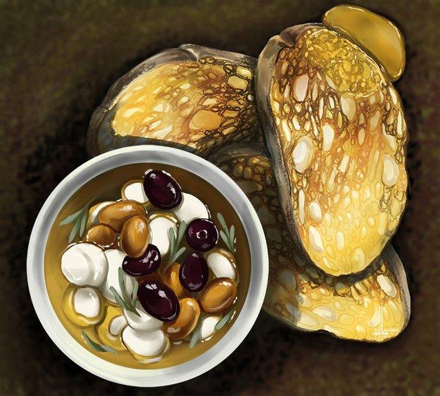 Смачні ілюстрації їжі, які змусять вас зголодніти - фото 297716