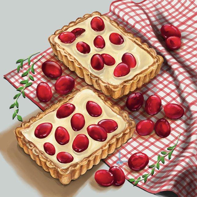 Смачні ілюстрації їжі, які змусять вас зголодніти - фото 297721