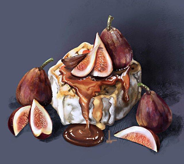 Смачні ілюстрації їжі, які змусять вас зголодніти - фото 297722