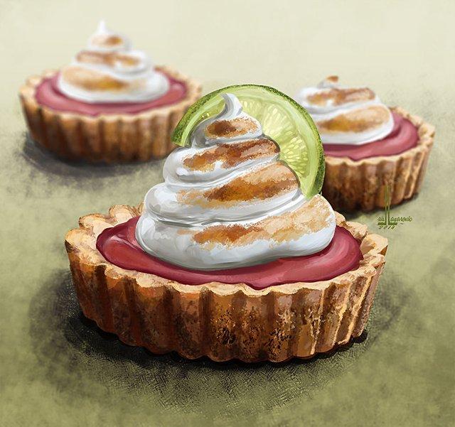 Смачні ілюстрації їжі, які змусять вас зголодніти - фото 297723