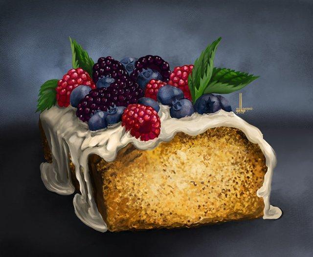 Смачні ілюстрації їжі, які змусять вас зголодніти - фото 297726