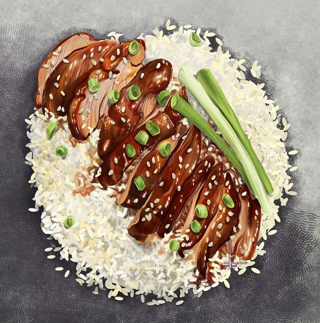 Смачні ілюстрації їжі, які змусять вас зголодніти - фото 297728
