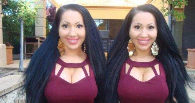 Найбільш схожі близнючки у світі виходять заміж за одного чоловіка - фото 297746