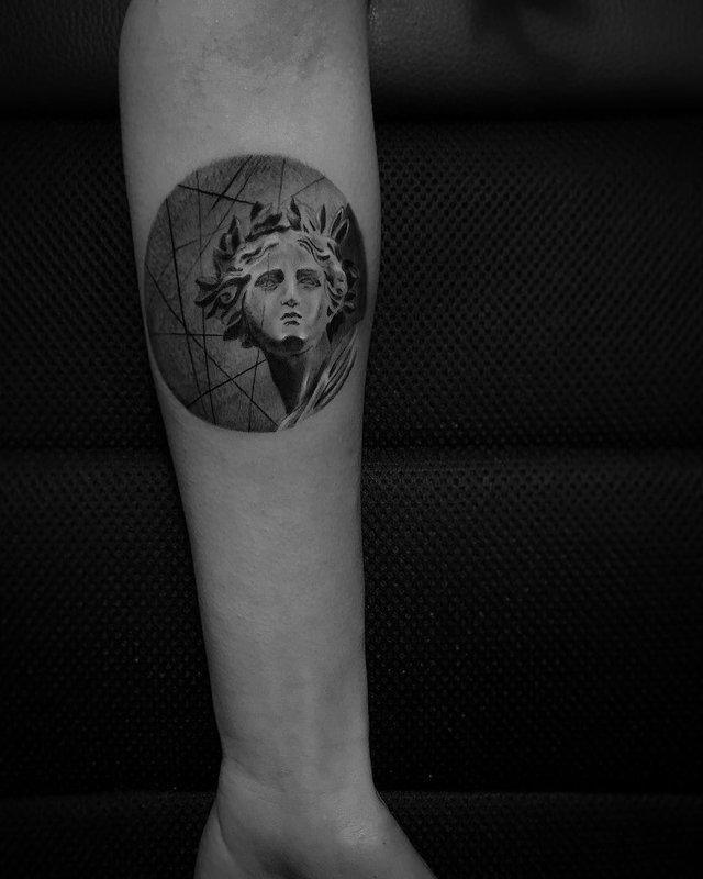 Чорно-білі тату турецького майстра, які нагадують витвори мистецтва - фото 297911