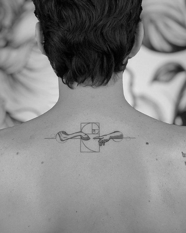 Чорно-білі тату турецького майстра, які нагадують витвори мистецтва - фото 297928