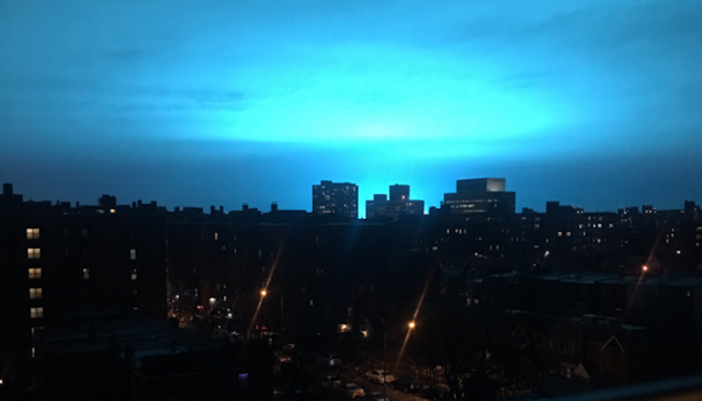 Американці помітили у небі незвичайне явище: фотофакт - фото 298050