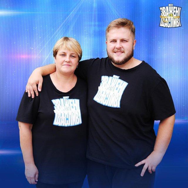 Переможці домашнього зважування Саша і Наташа Валігурські - фото 298087