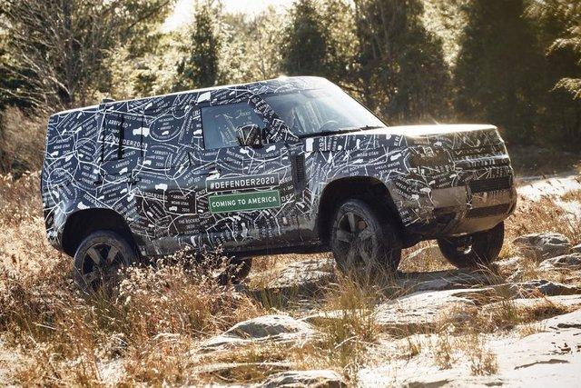 Тестування нового Land Rover Defender - фото 298214