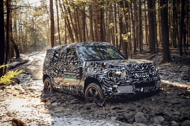 Тестування нового Land Rover Defender - фото 298217