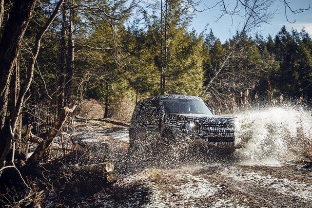 Тестування нового Land Rover Defender - фото 298222