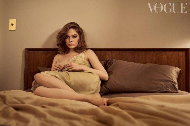 Чарівна Емма Стоун знялася для Vogue - фото 298230