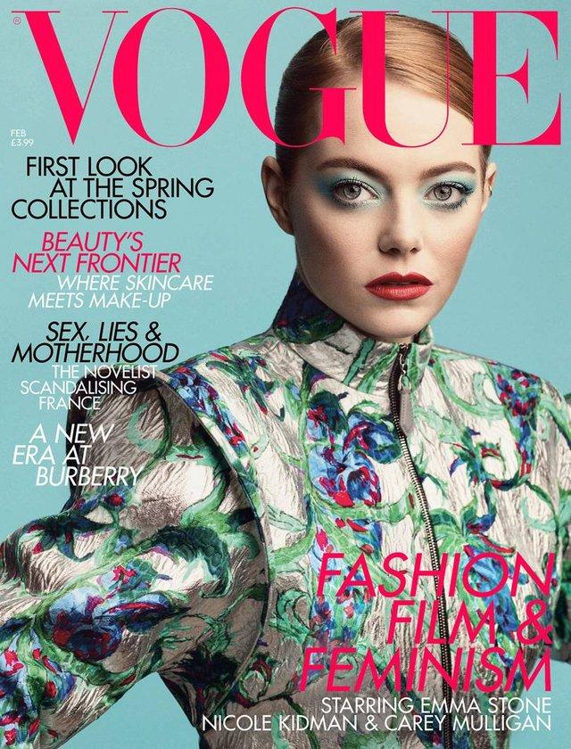 Чарівна Емма Стоун знялася для Vogue - фото 298231