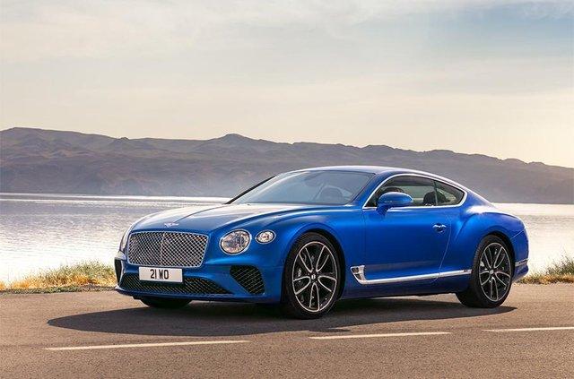 Bentley Continental GT - фото 298504