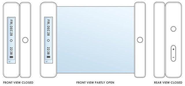 LG запатентувала незвичайний смартфон у формі сувою - фото 298654