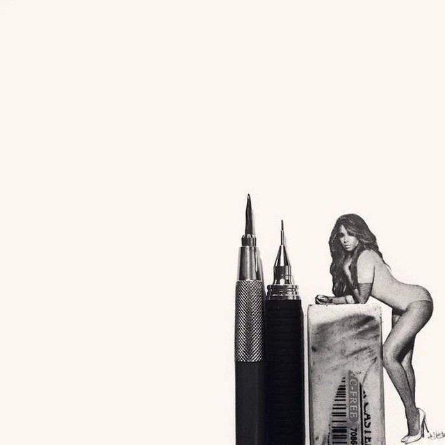 Американець створює мініатюрні малюнки з безліччю деталей - фото 299084