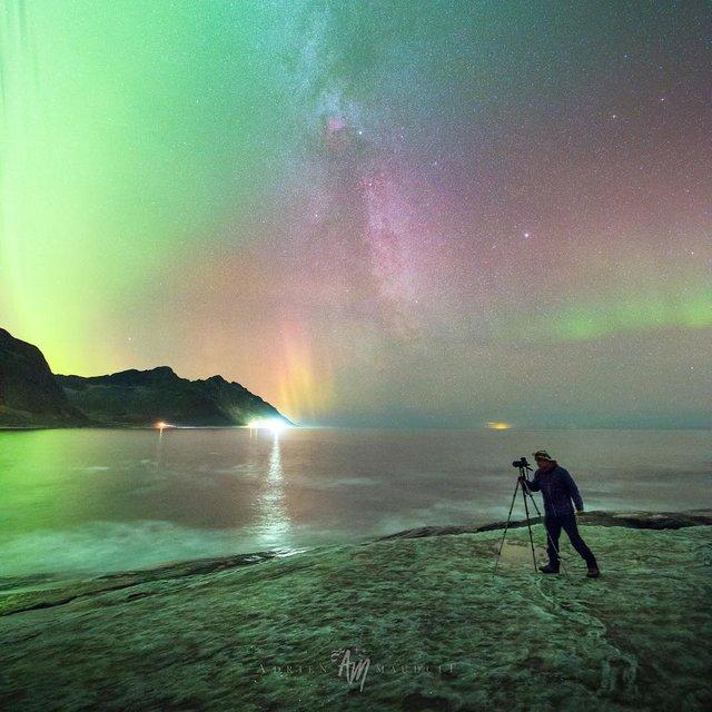 Неймовірна краса полярного сяйва: захопливі фото і відео - фото 299230