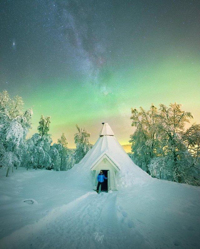 Неймовірна краса полярного сяйва: захопливі фото і відео - фото 299239