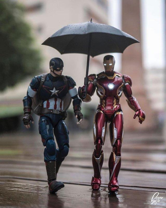 Чим займаються супергерої, коли не рятують світ: епічні фото - фото 299543