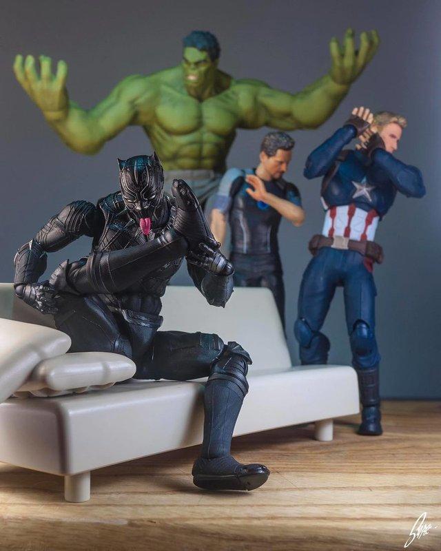 Чим займаються супергерої, коли не рятують світ: епічні фото - фото 299550