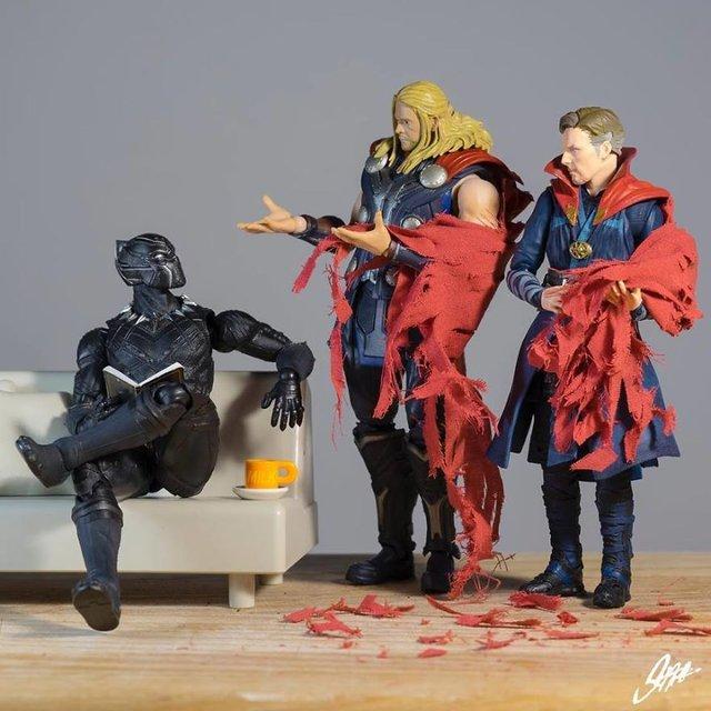Чим займаються супергерої, коли не рятують світ: епічні фото - фото 299565