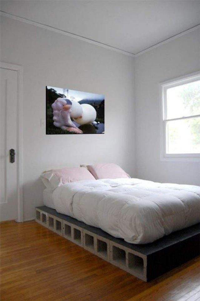Меблі зі звичайного шлакоблоку: дешеві ідеї - фото 299806