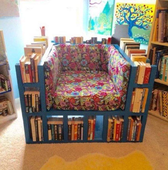 Меблі зі звичайного шлакоблоку: дешеві ідеї - фото 299810