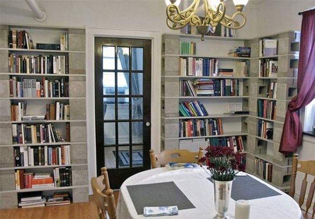 Меблі зі звичайного шлакоблоку: дешеві ідеї - фото 299812