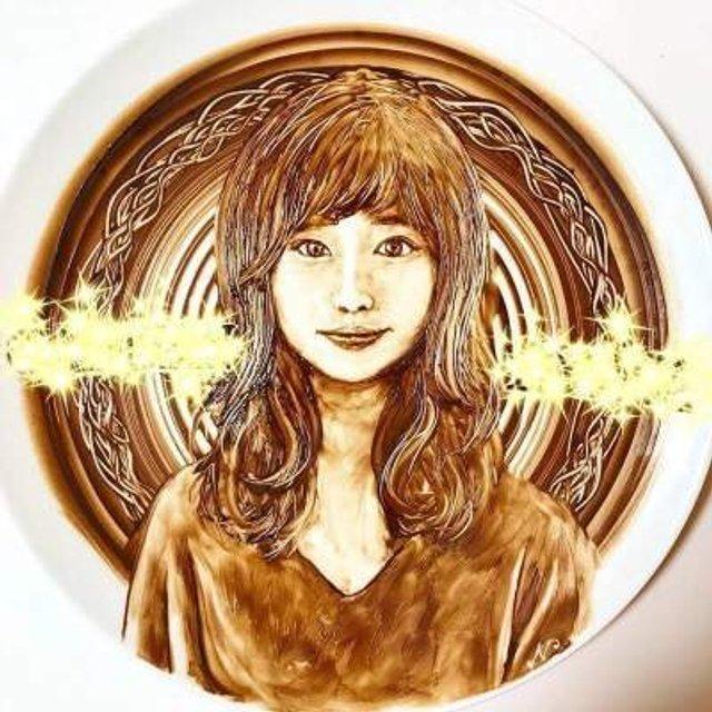 Як виглядають картини, намальовані шоколадом - фото 299869