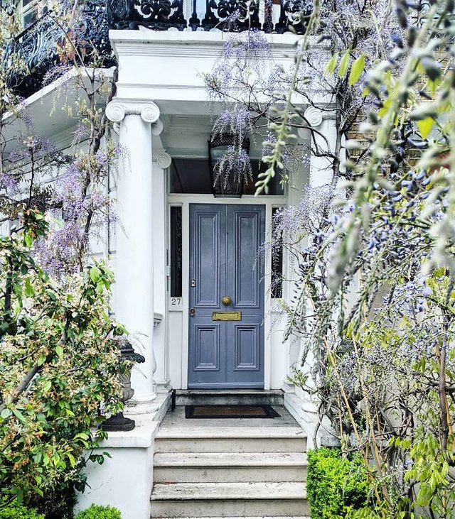 Фотограф показала найкрасивіші двері Лондона - фото 300052