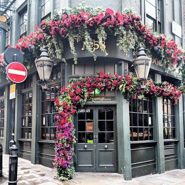 Фотограф показала найкрасивіші двері Лондона - фото 300053