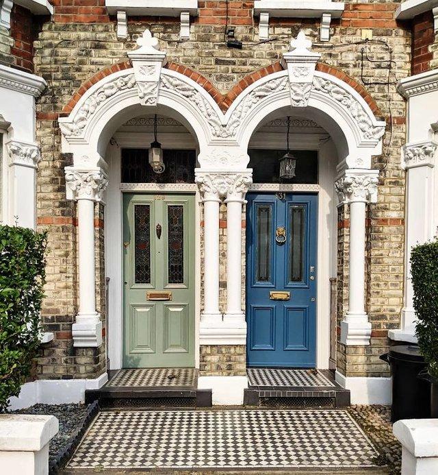 Фотограф показала найкрасивіші двері Лондона - фото 300055