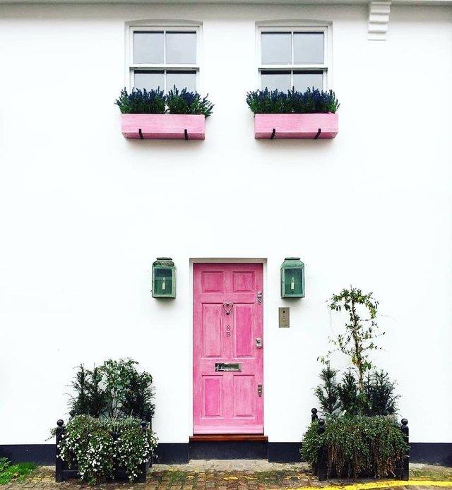 Фотограф показала найкрасивіші двері Лондона - фото 300056