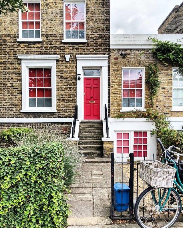 Фотограф показала найкрасивіші двері Лондона - фото 300058