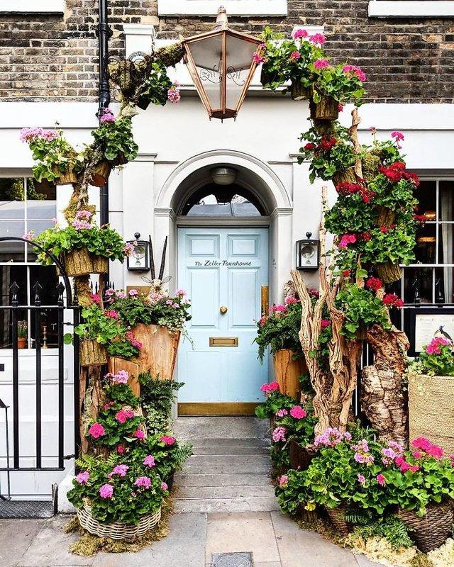 Фотограф показала найкрасивіші двері Лондона - фото 300060