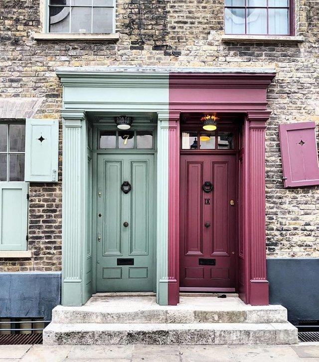 Фотограф показала найкрасивіші двері Лондона - фото 300063