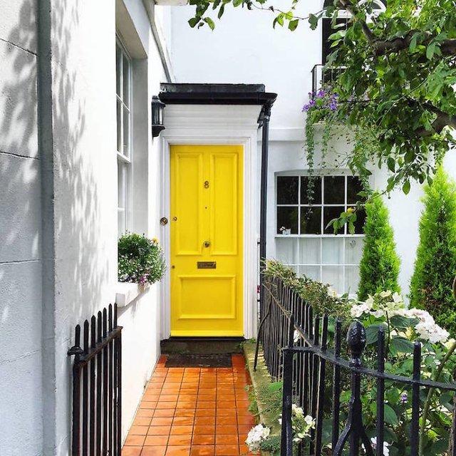 Фотограф показала найкрасивіші двері Лондона - фото 300065