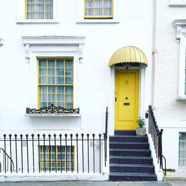 Фотограф показала найкрасивіші двері Лондона - фото 300069