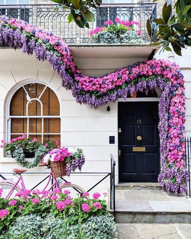 Фотограф показала найкрасивіші двері Лондона - фото 300070