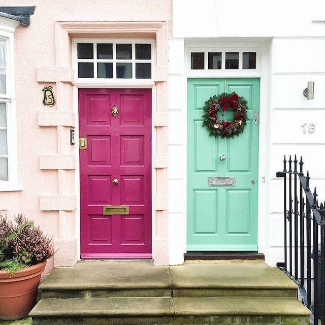 Фотограф показала найкрасивіші двері Лондона - фото 300072