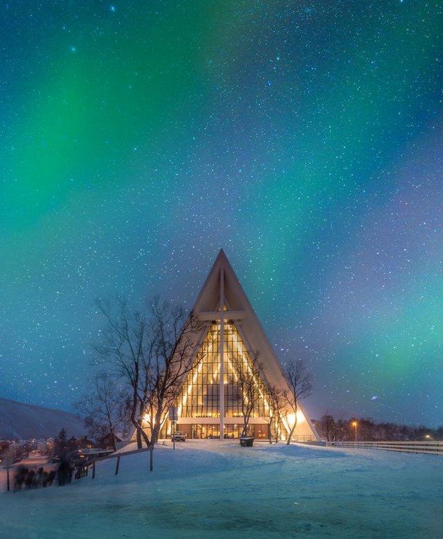 Арктичний собор Тромсе - фото 300127