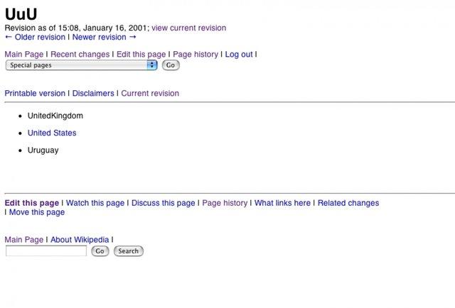 Перша стаття у Вікіпедії - фото 300947