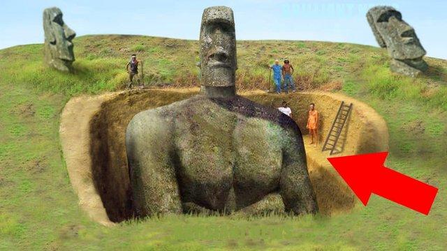 Вчені пояснили розташування статуй на острові Пасхи  - фото 301602