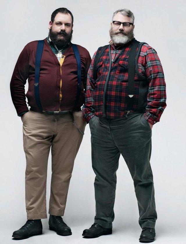 Як одягатися повним чоловікам - фото 303374