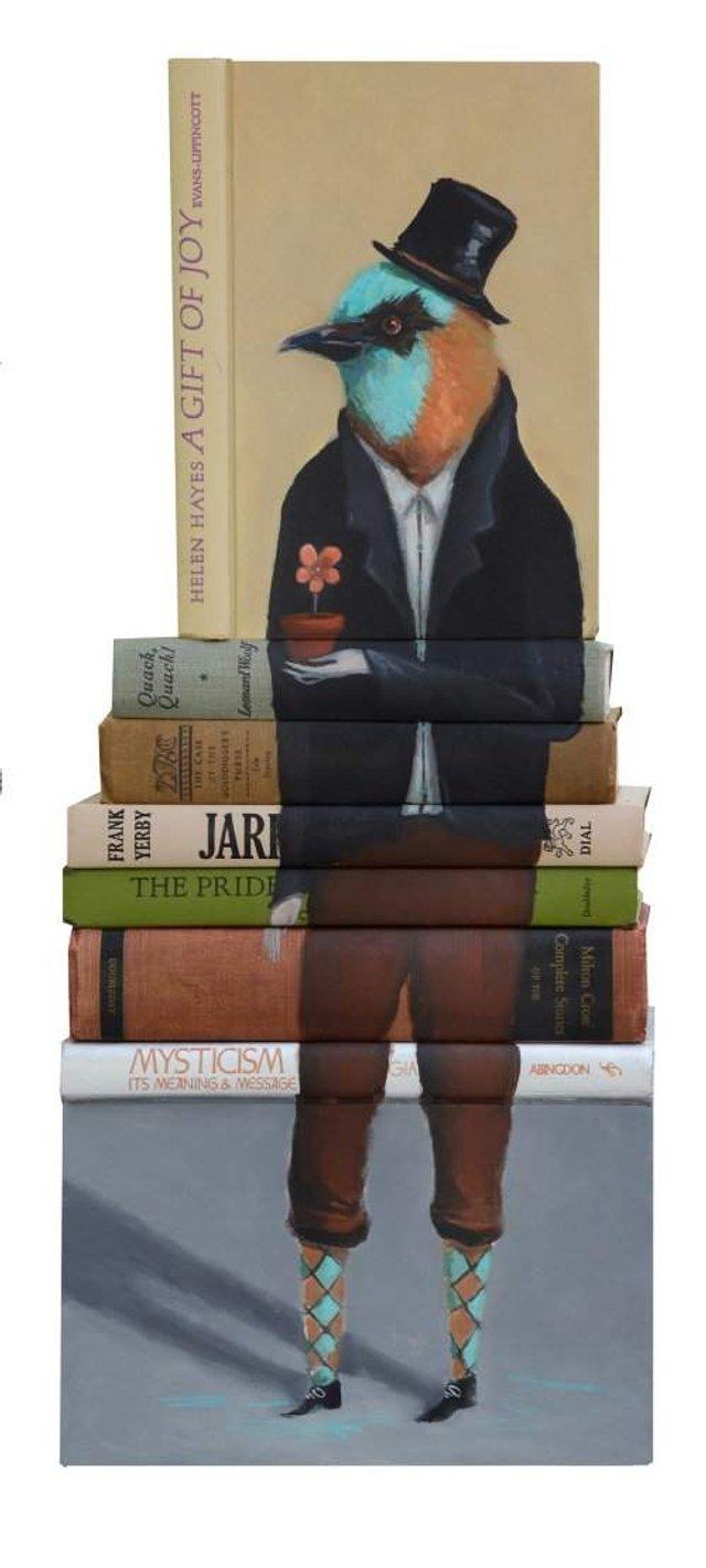 Старі книги перетворили на оригінальні скульптури: крута ідея - фото 303994