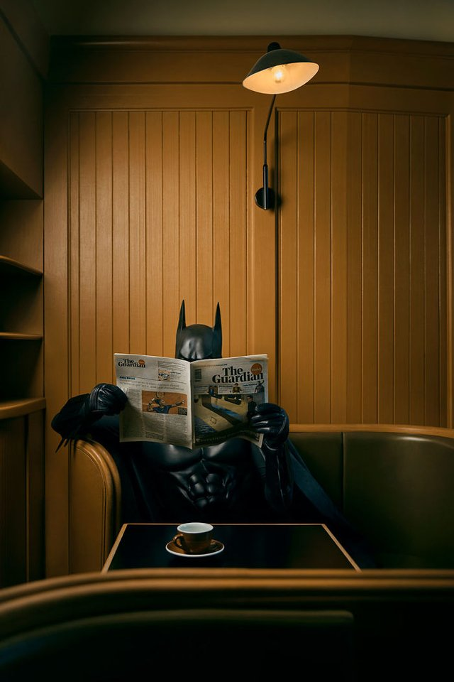 Коли місту не потрібен герой: як виглядають будні Бетмена - фото 305505