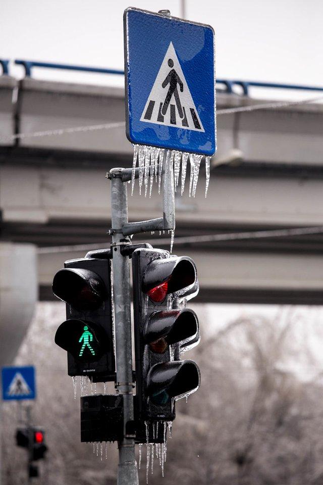 Моторошна краса: як виглядає крижана зима у Румунії - фото 305904