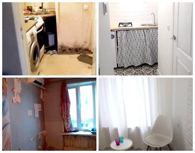 Перетворення маленької одеської квартири захопило мережу: фото до і після - фото 306352