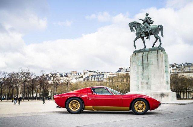 Lamborghini відновила купе Miura президента FIA - фото 306487
