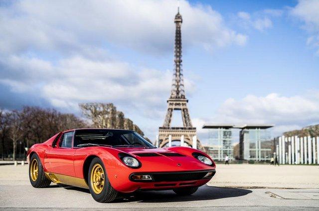 Lamborghini відновила купе Miura президента FIA - фото 306491