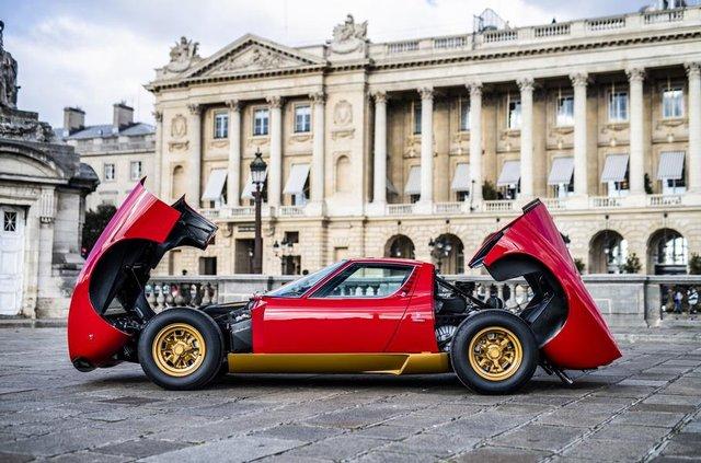 Lamborghini відновила купе Miura президента FIA - фото 306492